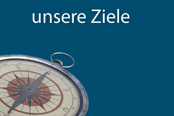 Ziele: alter Kompass
